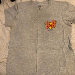Duff Beer the simpsons tee